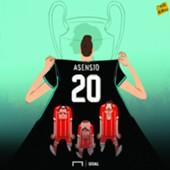 CARTOON: Asensio's path to glory