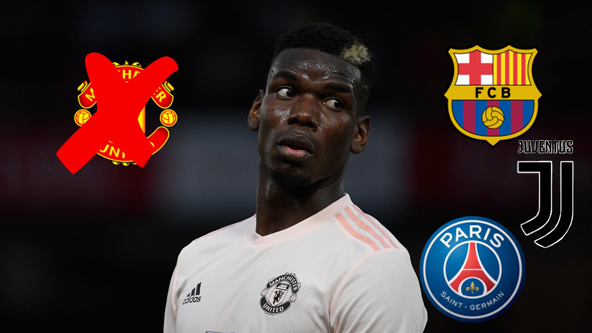 Will Paul Pogba Leave Man Utd In January Barcelona Juventus Psg And Transfer Options For Midfielder Goal Com