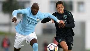 Mangala Chicharito Hernandez West Ham Manchester City 04082017