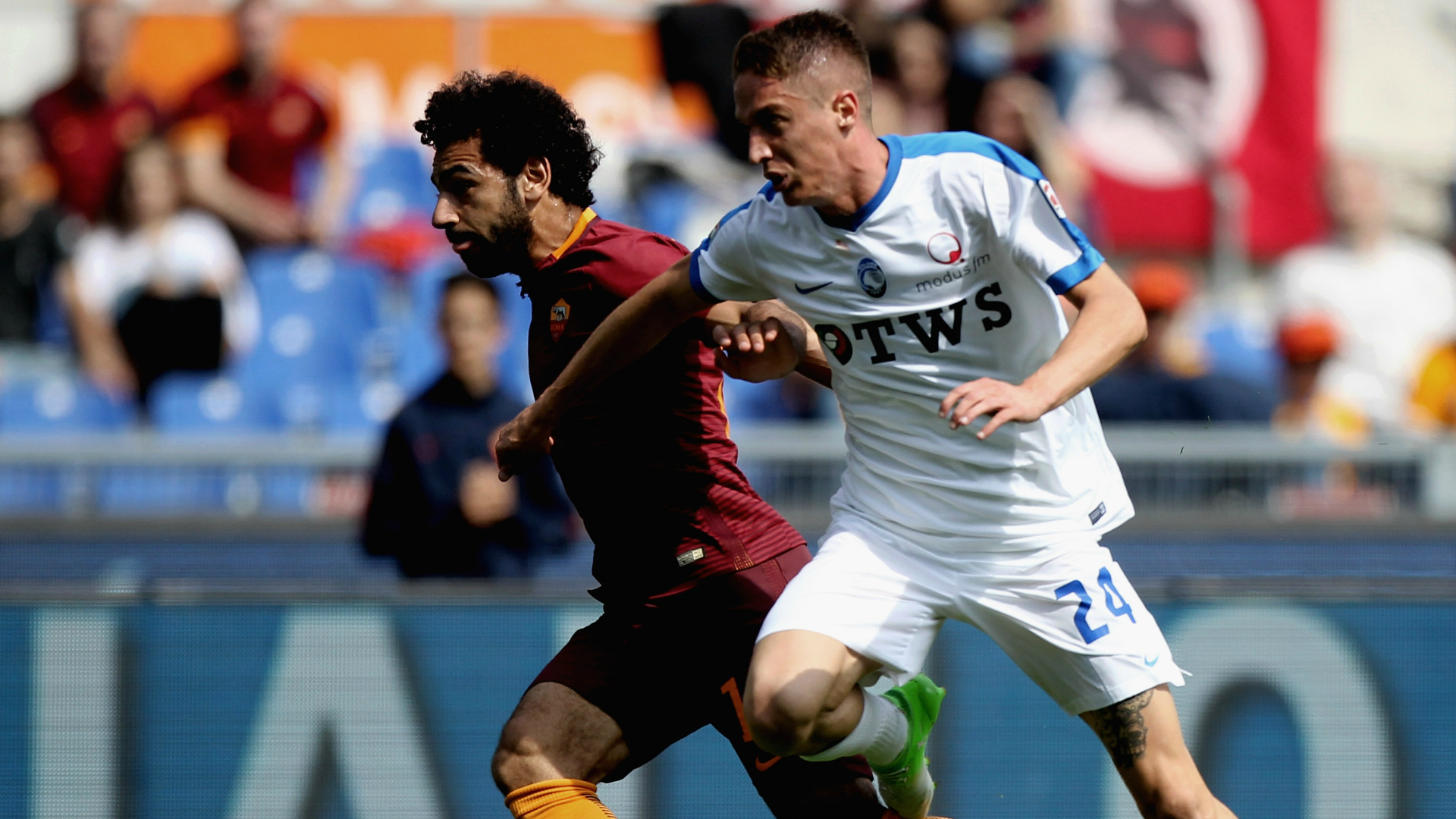Salah Conti Roma Atalanta Serie A