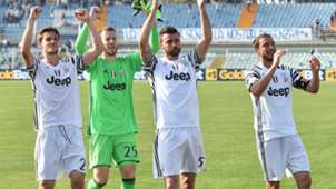 Barzagli Marchisio Neto Rugani Juventus Serie A
