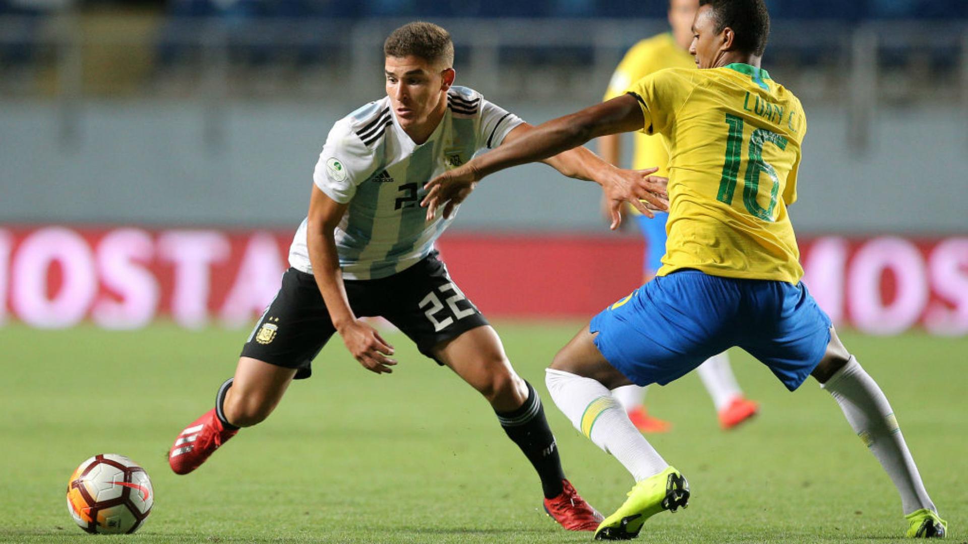 Dos argentinos en el equipo ideal del Sudamericano Sub 20