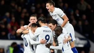 Chelsea celebrate vs West Brom