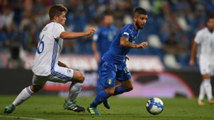 Lorenzo Insigne Italy Israel
