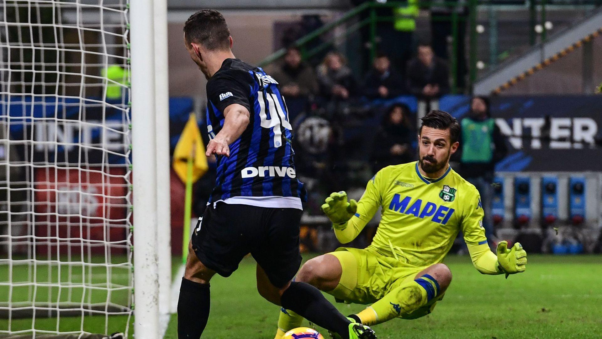 Andrea Consigli Inter Sassuolo Serie A