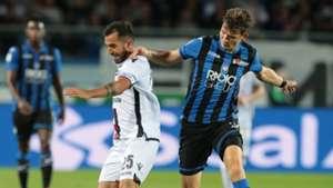 Marco Sau Marten De Roon Atalanta Cagliari Serie A