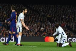 Cesc Fabregas Kante Barcelona Chelsea UEFA Champions League