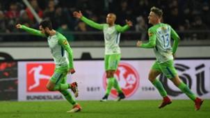 Yunus Malli VfL Wolfsburg Bundesliga 28012018