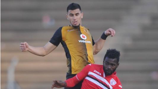 Lorenzo Gordinho and Mohamed Ansa - Kaizer Chiefs vs Free State Stars