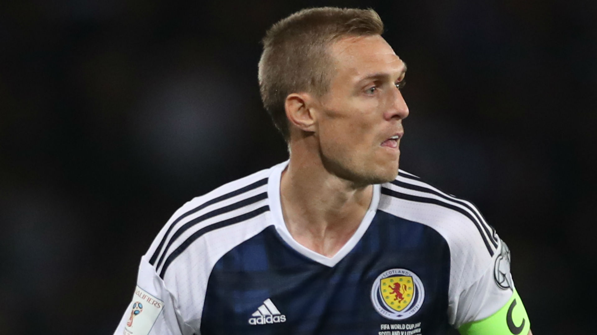 Darren Fletcher Scotland 2016