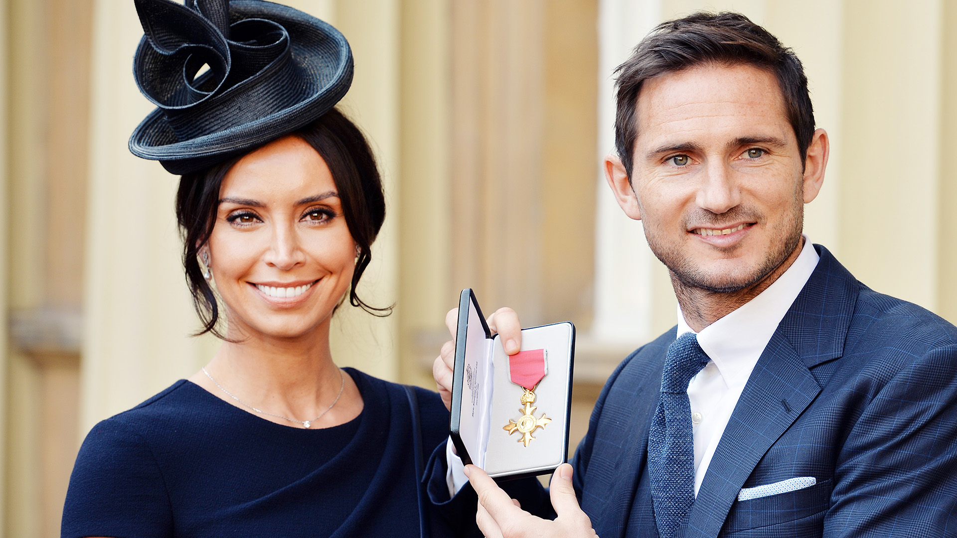 Frank Lampard Christine Bleakley OBE