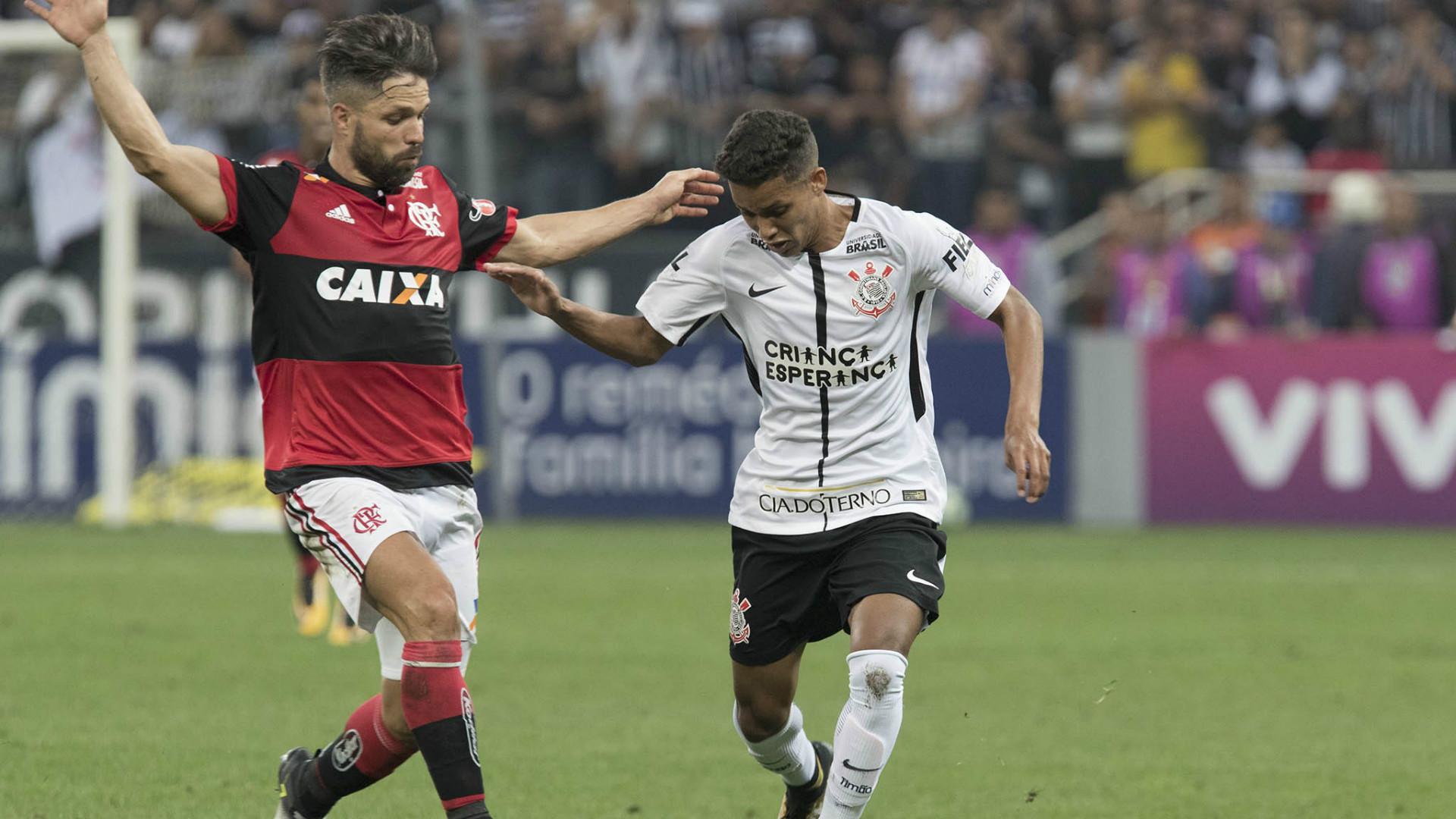 Pedrinho e Diego - Corinthians x Flamengo - 30/07/2017