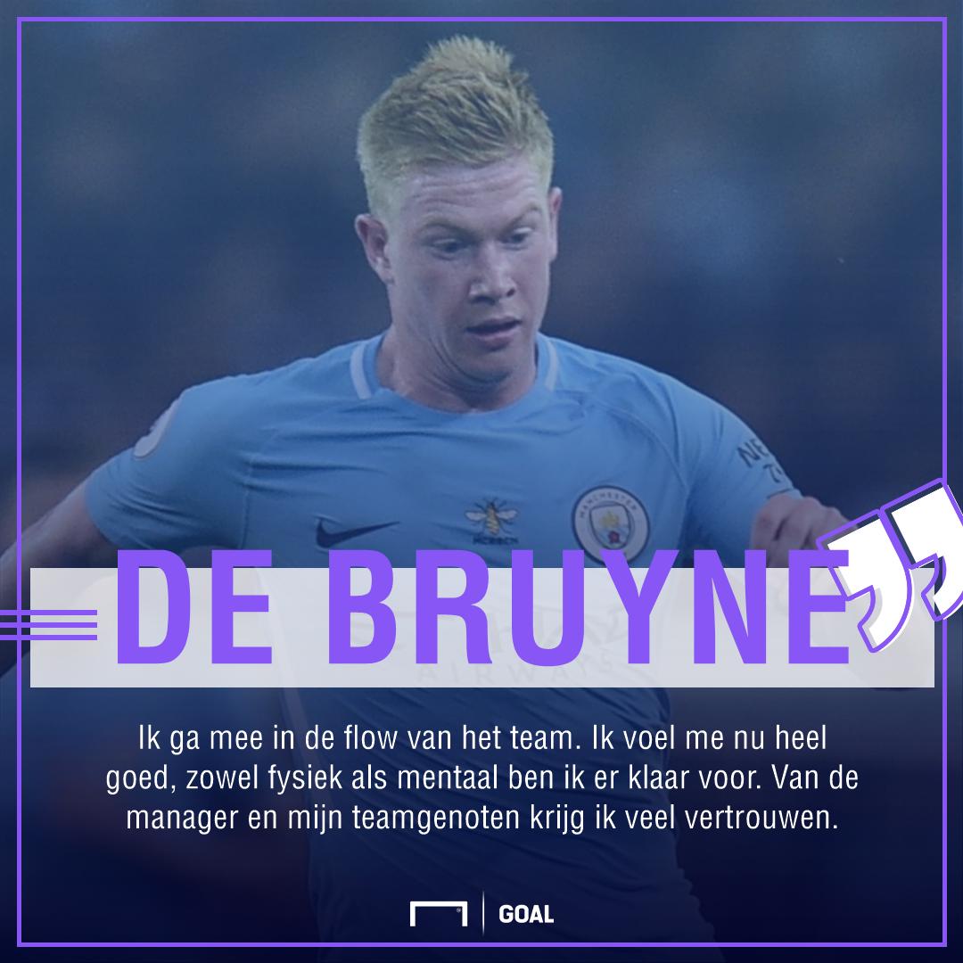 Kevin De Bruyne quote, Dutch