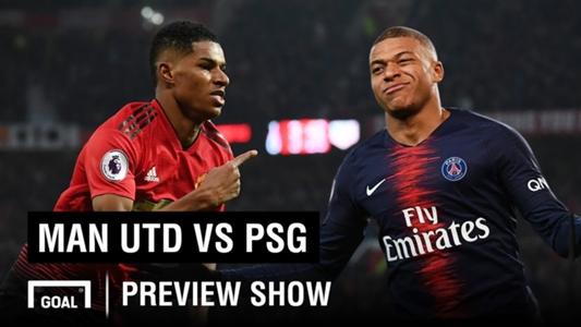 Man United Vs Psg: VIDÉO : Man Utd Vs PSG Champions League Preview Show