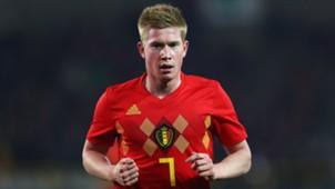 Kevin De Bruyne Belgium 2018