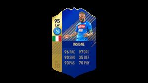 FIFA 18 Calcio A Team of the Season Insigne