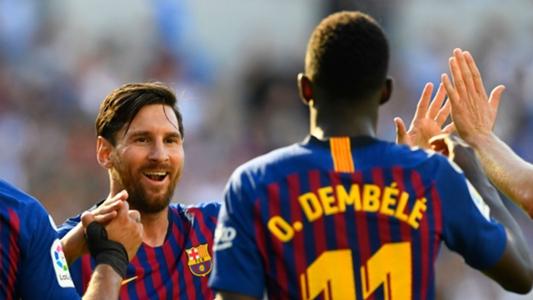 Messi tells me to be free  - Dembele targets return to Barca starting XI 931e62b9976