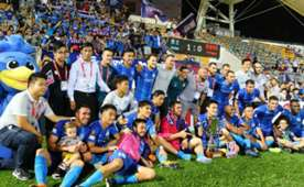 Hong Kong Premier league, Kitchee 1:0 won over Pegasus.