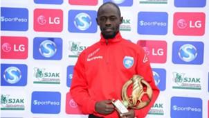 AFC Leopards striker Ezekiel Odera.