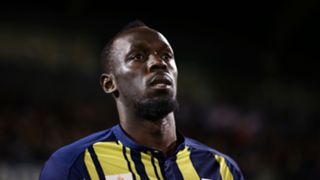 Usain Bolt Central Coast Mariners 12102018