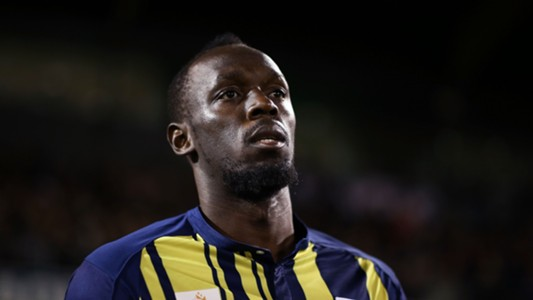 Usain Bolt Central Coast Mariners 12102018