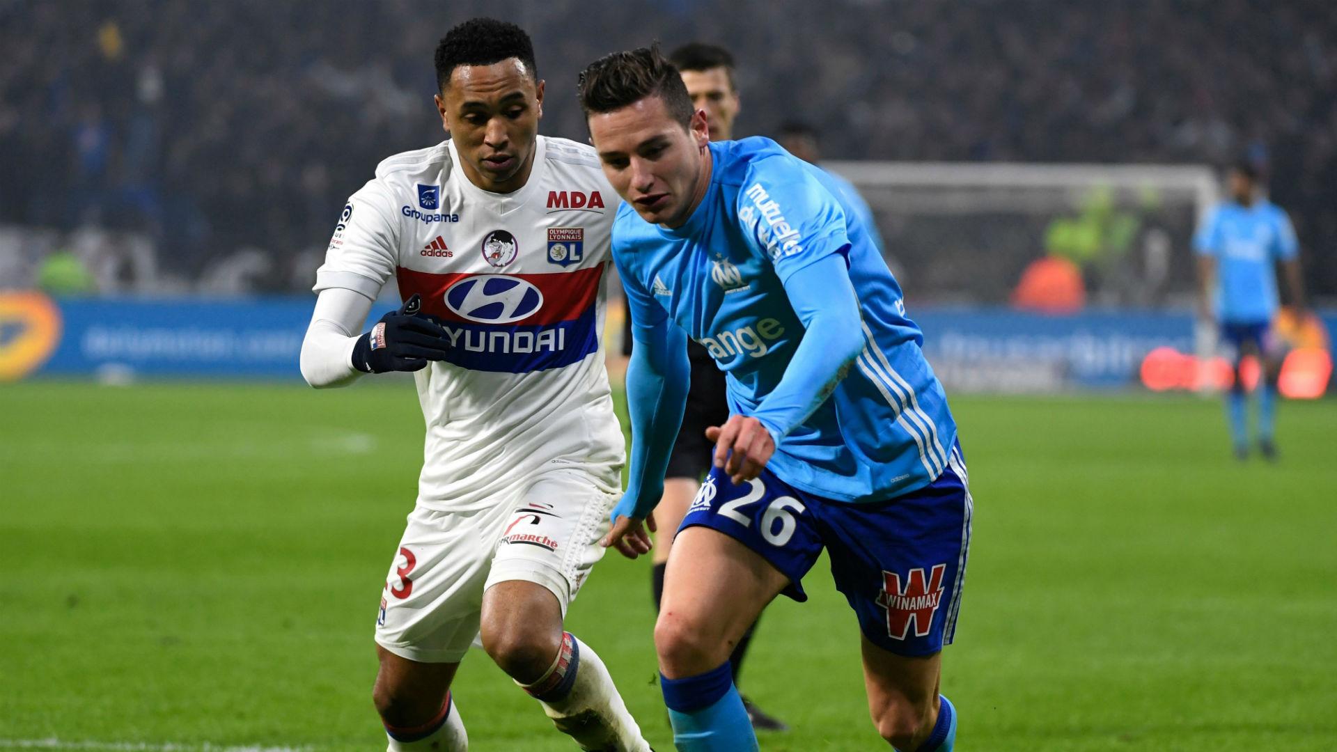 Florian Thauvin Kenny Tete Lyon Marseille Ligue 1 17122017