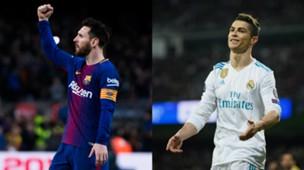 GFX Messi Ronaldo