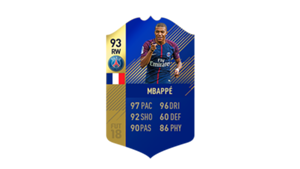 FIFA 18 Ligue 1 Team of the Season Mbappe