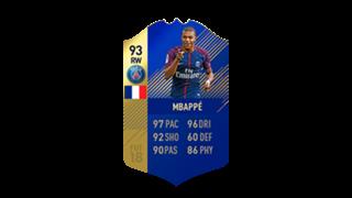 FIFA 18 Ligue 1 Team of the Season Mbappe