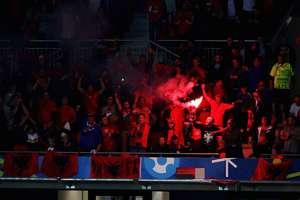 Albanien Rumänien Fans 19062016