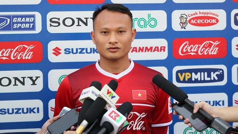 Tuyển Việt Nam tập luyện chuẩn bị AFC Cup 2018