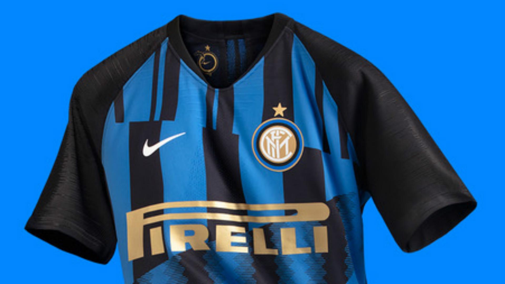 Fußball-Trikots von italienischen Vereinen MAGLIA INTER ⚫