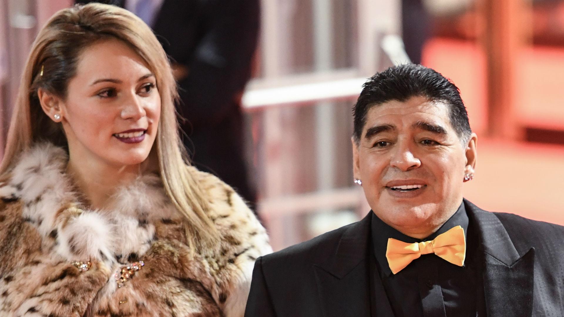 Rocio Oliva Diego Maradona 011217