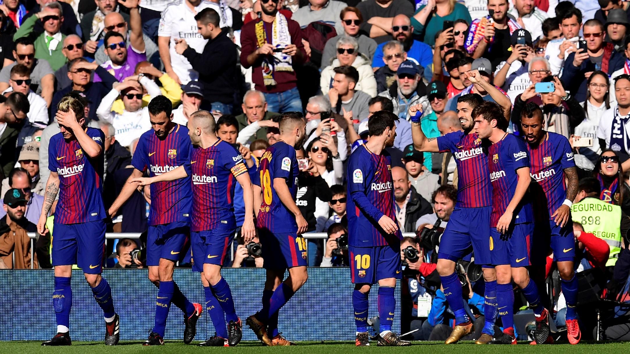 Gol Luis Suarez Real Madrid Barcelona El Clásico LaLiga 23122017
