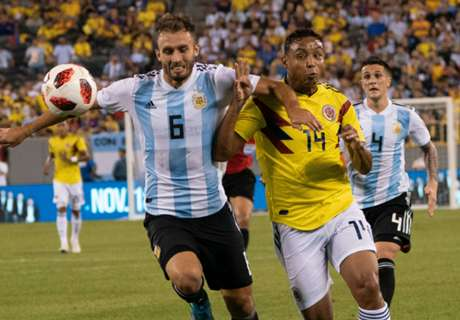 Argentina held by Colombia in friendly