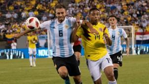 Luis Fernando Muriel German Pezzella Colombia Argentina 2018