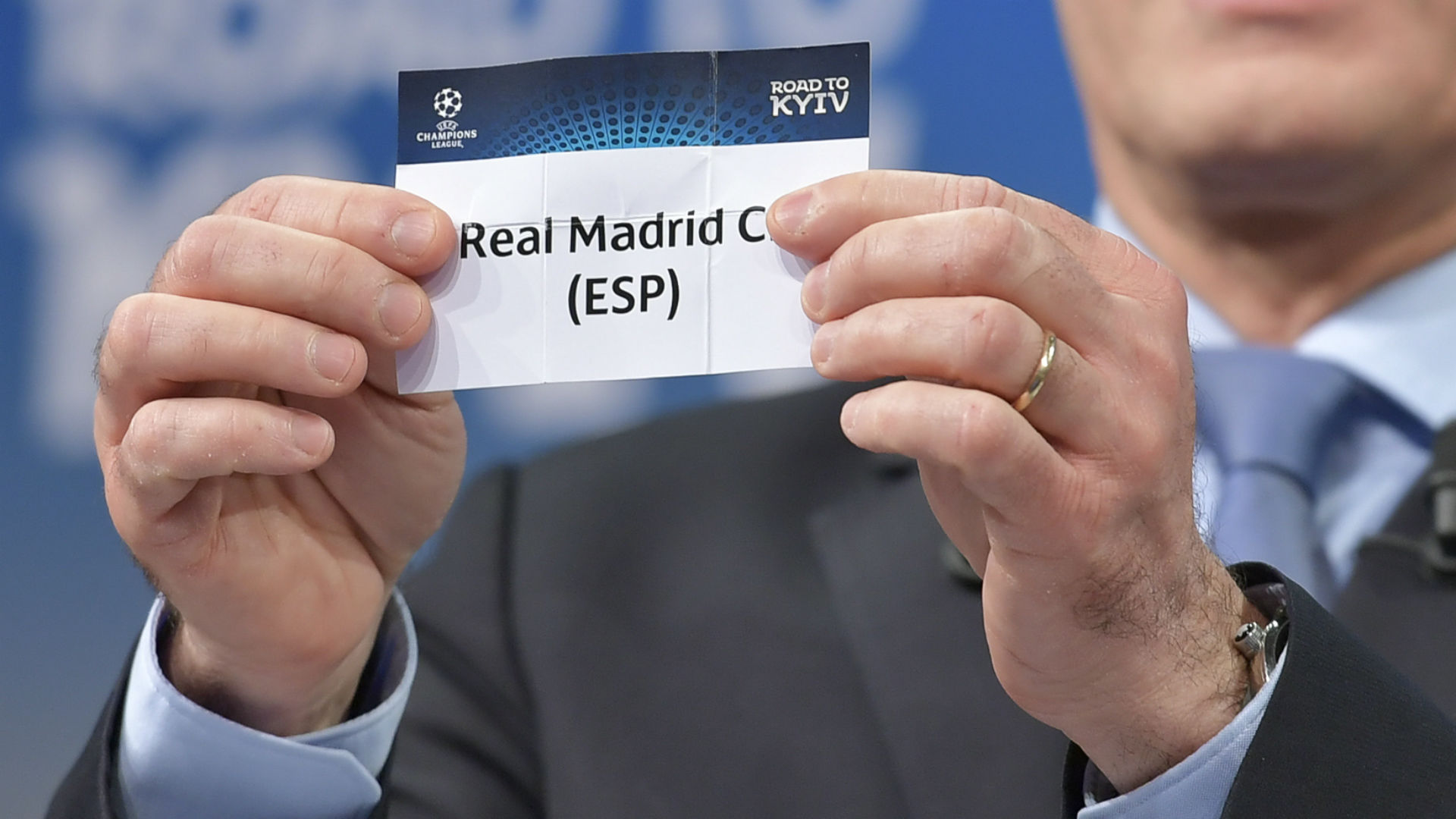 Real Madrid Champions League draw 04 01 2018