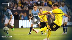 GFX Mario Gotze ICC Manchester City Borussia Dortmund