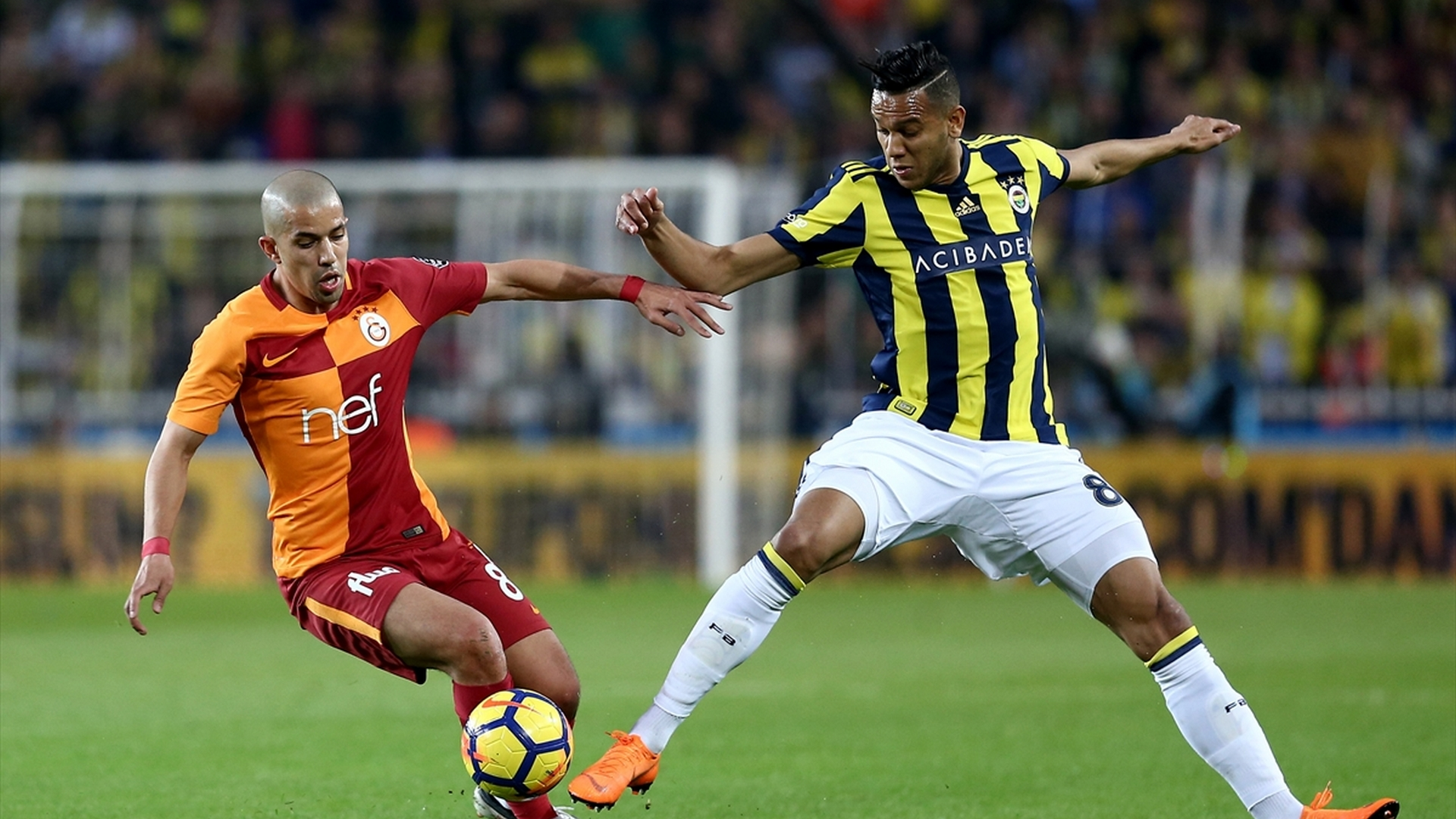 Feghouli Josef de Souza Fenerbahce Galatasaray 3172018