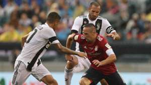 Franck Ribery Joao Cancelo Giorgio Chiellini Bayern Munich Juventus ICC 2018