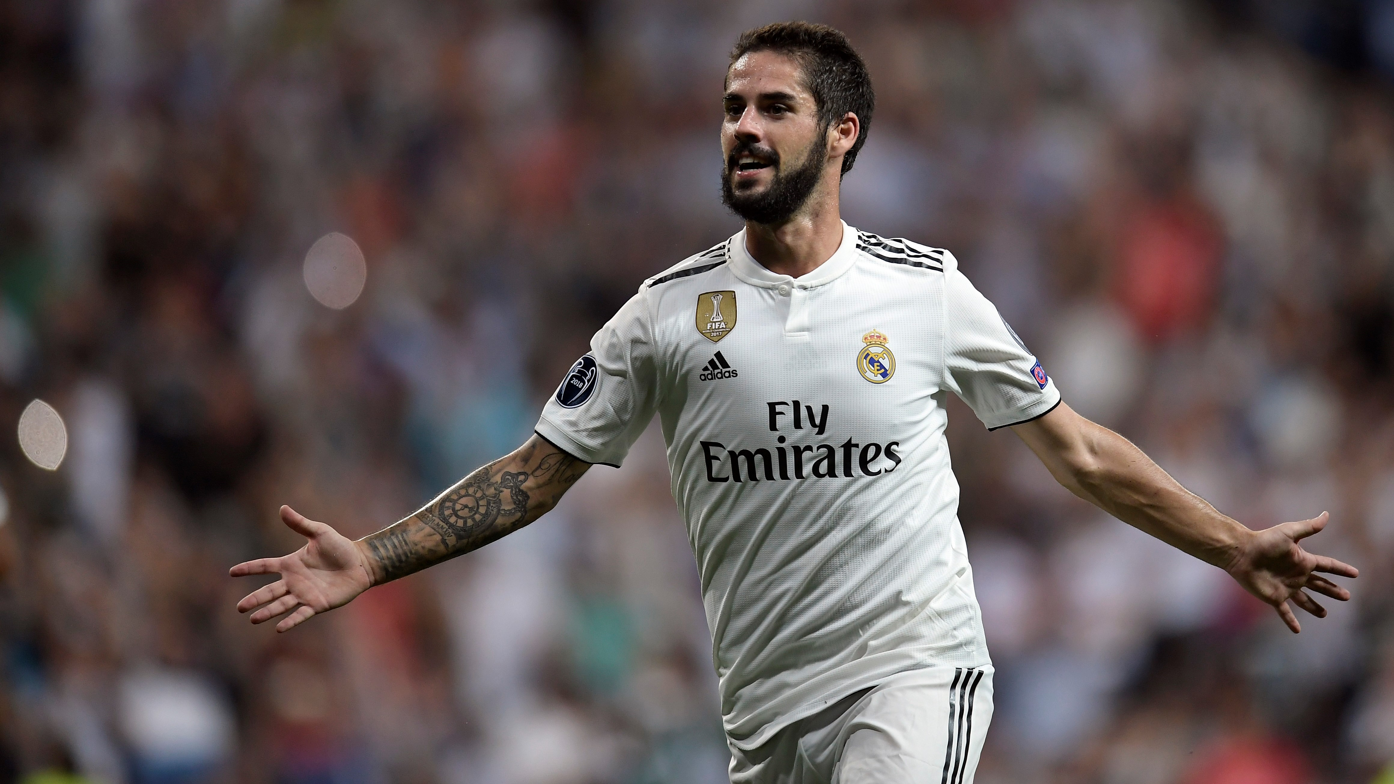 Isco Alarcon Real Madrid Roma UCL 19092018