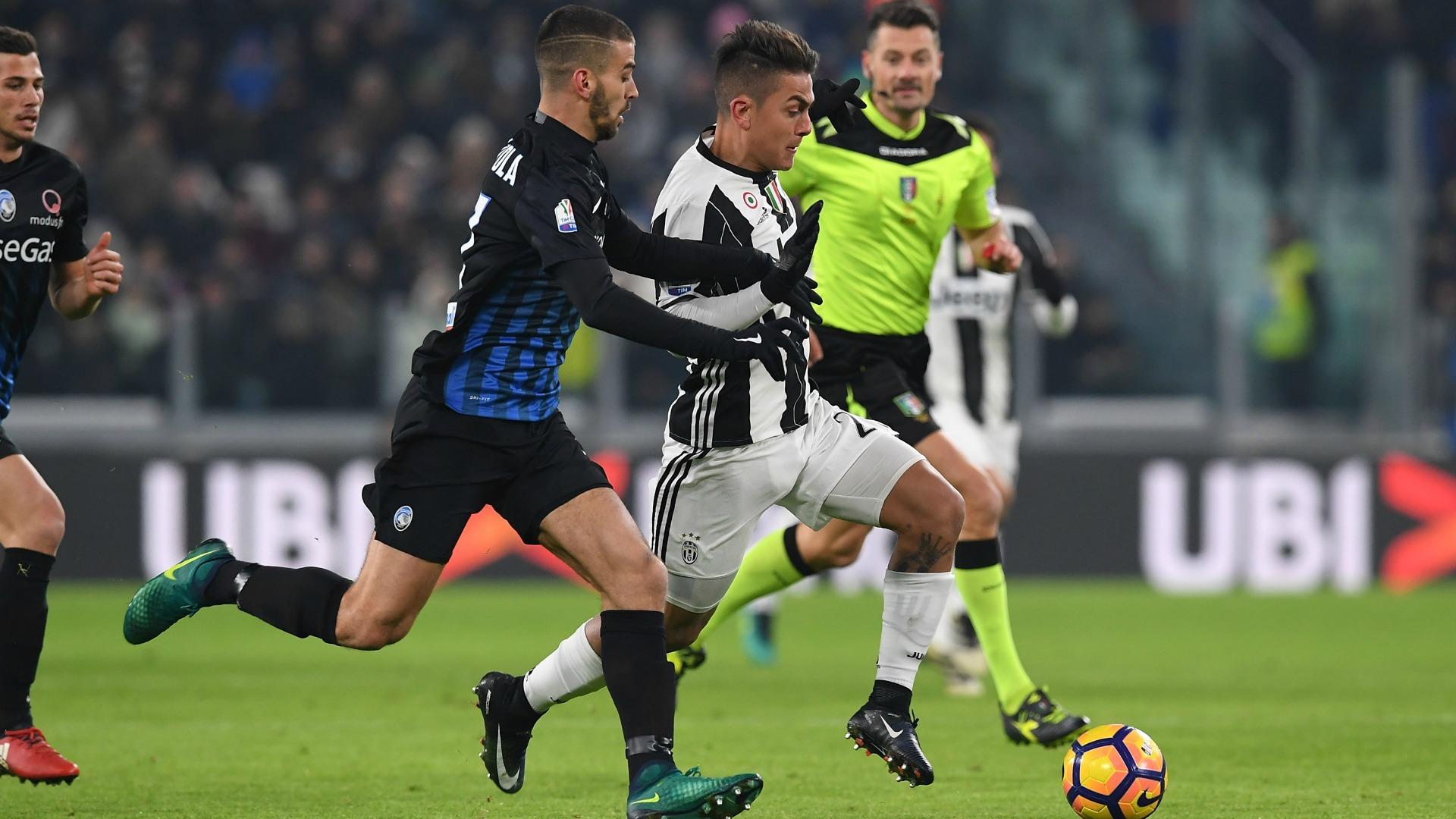 Paulo Dybala Leonardo Spinazzola Juventus Atalanta Coppa Italia