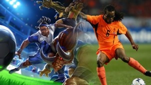 League of Legends vs Edgar Davids
