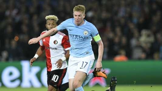 Kevin De Bruyne Manchester City Champions League
