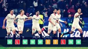 Sevilla Champions League Power Ranking GFX