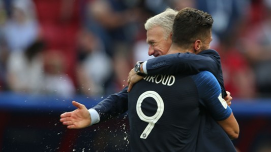 Didier Deschamps Olivier Giroud 30062018