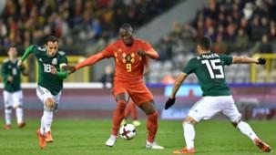 Romelu Lukaku Belgium Andres Guardado Hector Moreno Mexico