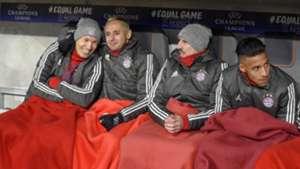 GER ONLY | Bayern Bank Robben Ribery Rafinha TOlisso