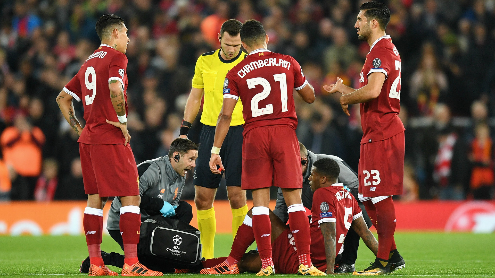 Liverpool Gini Wijnaldum injury