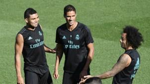 Casemiro Varane Marcelo Real Madrid